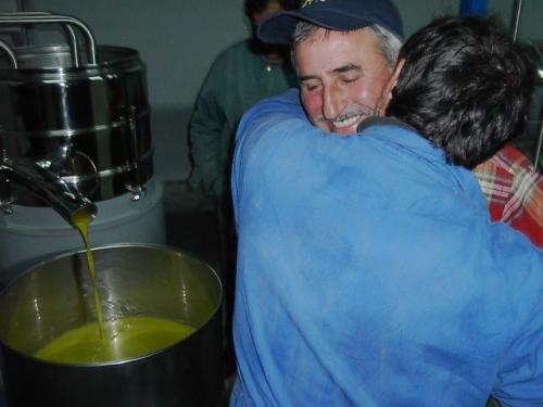 Anno 2004 – Primo Olio del nuovo impianto